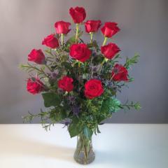 Dozen Roses - As Shown