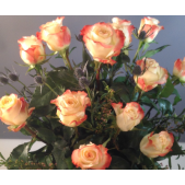 Dozen Colored Roses