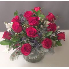 Dinner Roses - As Shown