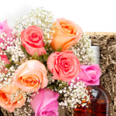 Roses & Rosé Gift Crate