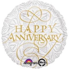 Happy Anniversary Mylar Balloon