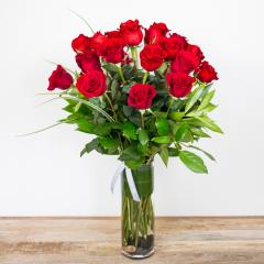 Long Stem Red Roses<br><i>2 dozen modern roses</i><br />