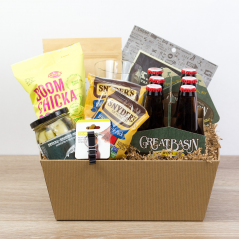 Dude Snacks Gift Crate - Large<br><i>Includes Made in Nevada products</i>