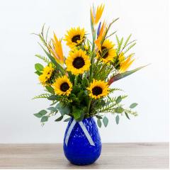 Sapphire Sunflowers