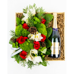 Merry Christmas & Bubbly<br><i>with your choice of champagne</i></br>
