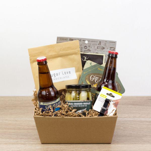 Dude Snacks Gift Crate