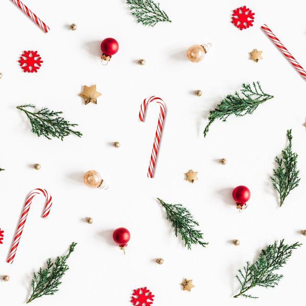 Add Christmas decorations