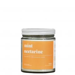 Mint Nectarine Soy Candle