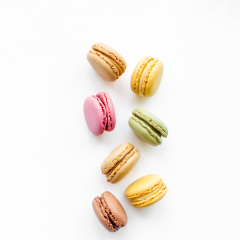 Mini French Macarons - 12 pc.