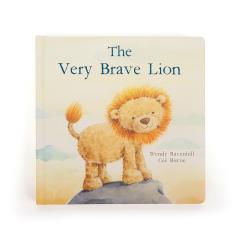 JellyCat The Very Brave Lion Book Addon