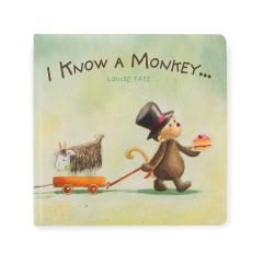 JellyCat I Know A Monkey Book Addon