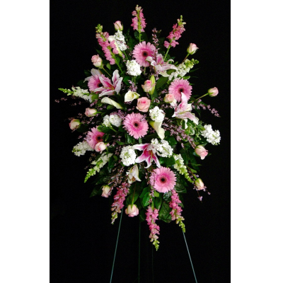 Ninth Street Flowers Durham - Celebrate a special life with this combination of our freshest shades of pink. An unforgettable array of flowers brings radiance and majesty in honor of a life well lived.