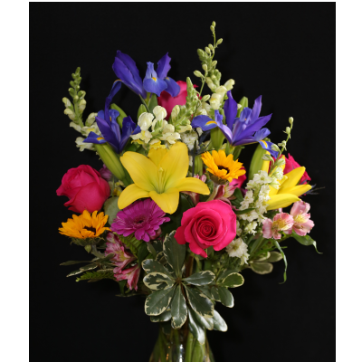 Ninth Street Flowers Durham - Colorful Bouquet of Summertime Favorites