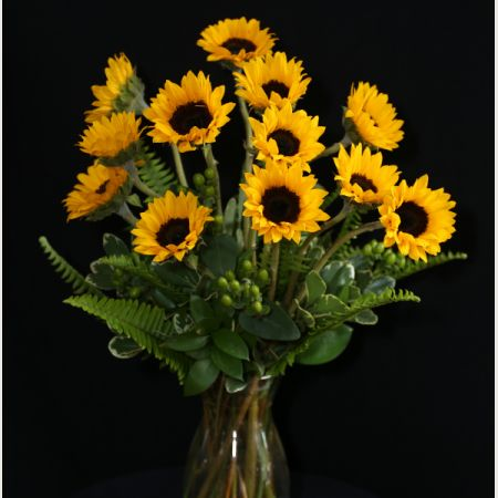 Ninth Street Flowers Durham - Simply Sunflowers... A great arrangement to highlight one of summers favorites!